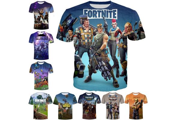 Fashion Men/Women New Design Games Fortnite T Shirts 3d Print Summer Casual Cool Tops