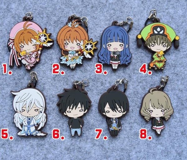 T1467 Anime Fate//Grand Order FGO rubber Keychain Key Ring Straps Rare cosplay