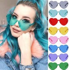 Heart, Fashion, sunprotectionsunglasse, Colorful