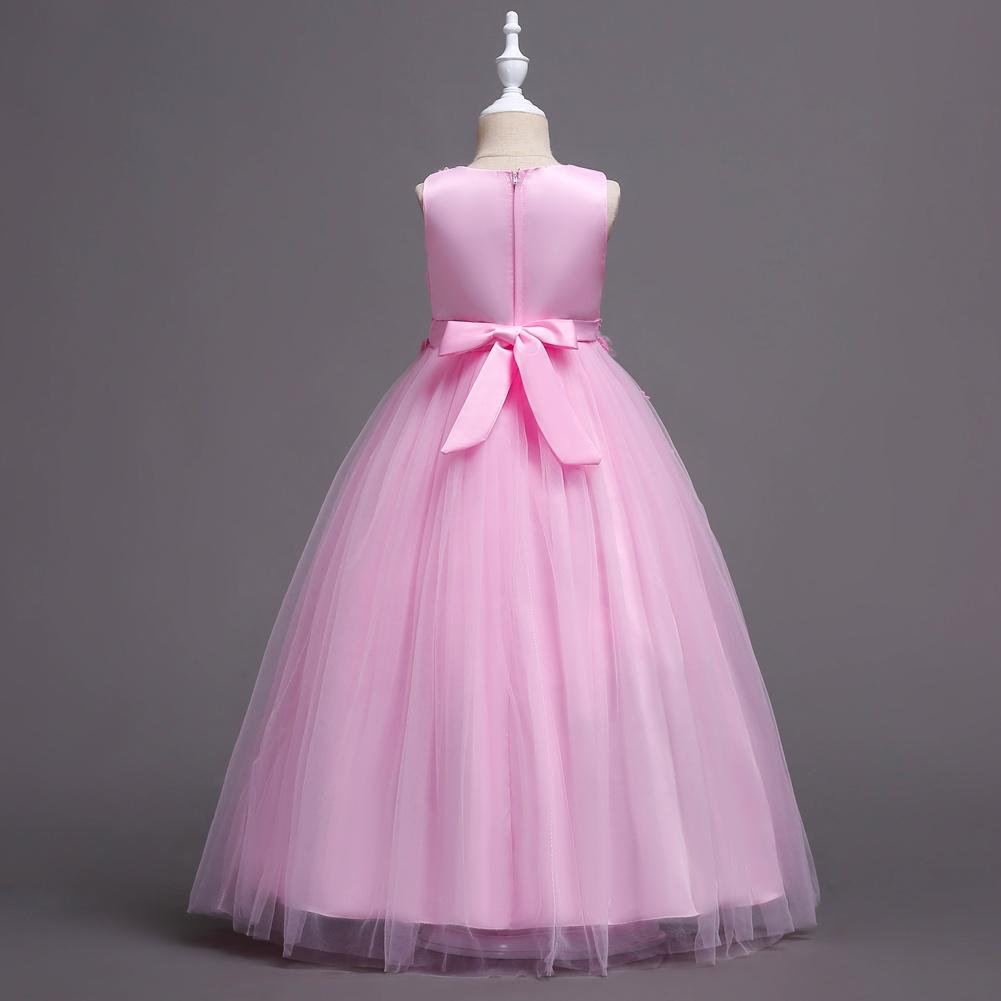 Compre Vestido De Boda De Las Muchachas Vestido De Partido Del ...