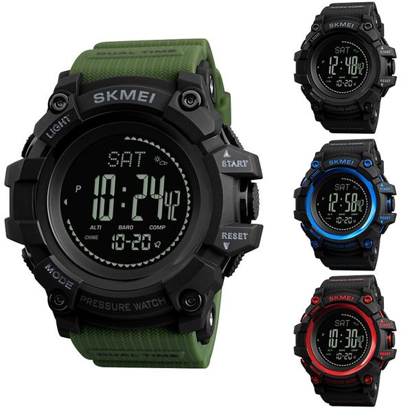 a785e38e8 Skmei 1358 Multifunctional Men Sport Wristwatch Pedometer Altimeter ...