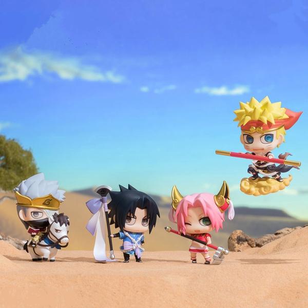 DIANXIA Anime Naruto Son Goku Kakashi Sasuke Sakura The Seventh Action  Figure Toys For Children Kids PVC
