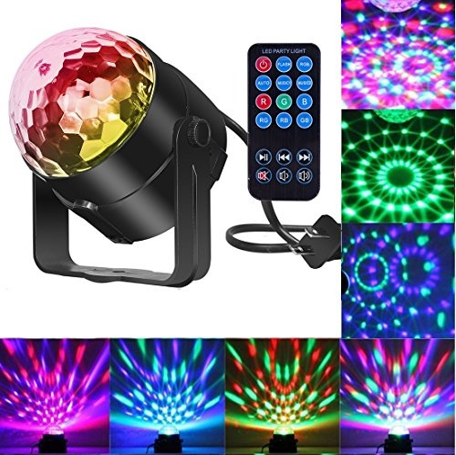 Karaoke Christmas Party.Comwinn Disco Lights Sound Activated Strobe Light Disco Ball Dj Lights Party Lights Xmas 7colors Disco Light Disco Party Lights Show For Christmas
