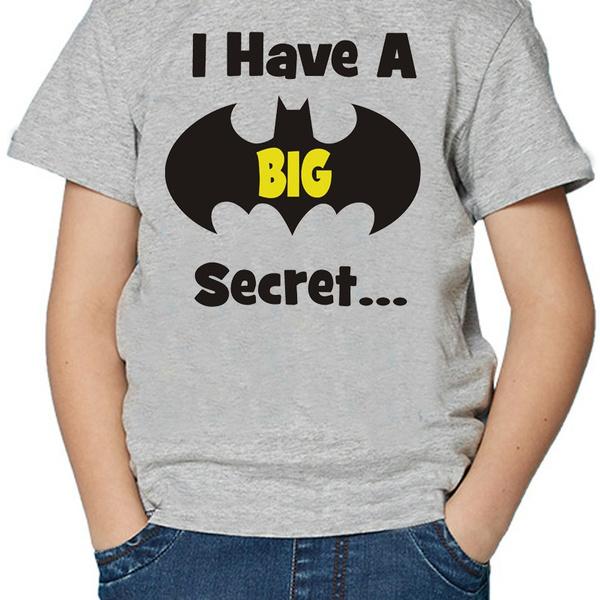 45f09e91 2018 Baby Boys Summer Fashion Short Sleeved I Have A Secret, I'm ...