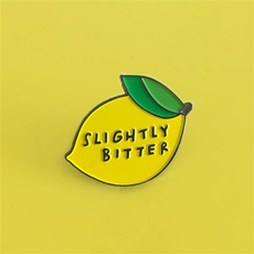 cute, Fashion, lemon, Pins