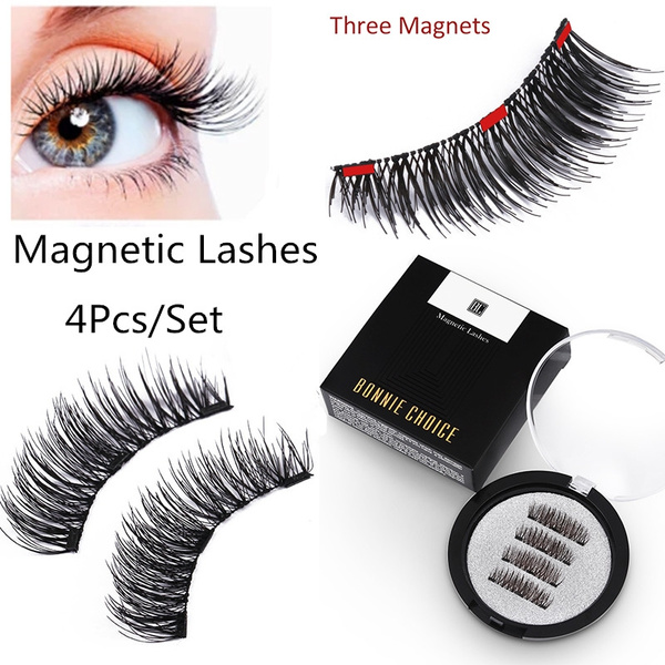 False Eyelashes, Box, eye, triplemagneteyelashe