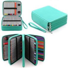 coloredpencilbag, pencilbag, largecapacitypencilcase, cute
