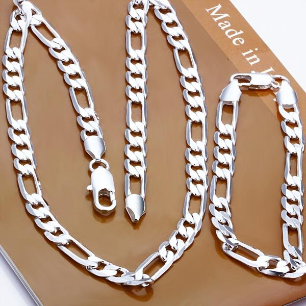 8MM, Chain Necklace, Chain bracelet, Gifts