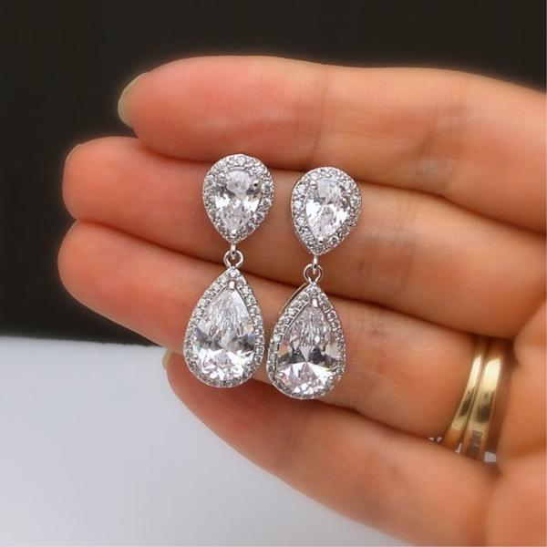 Fashion, Jewelry Accessory, Gemstone Earrings, Sterling Silver Earrings
