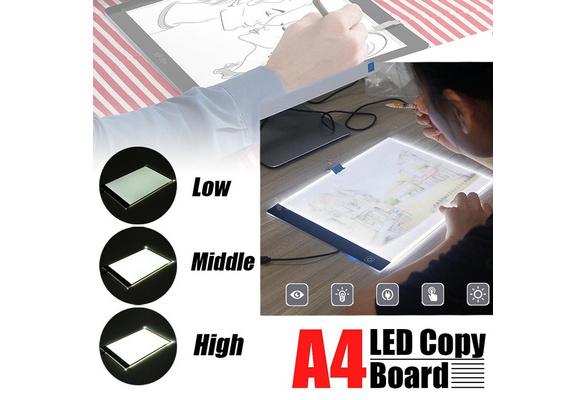 A4/A3 LED Painting Tracing Board Copy Pad Panel Drawing Tablet Art Artcraft Stencil Artist Tattoo Design Light Box