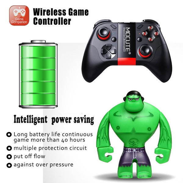 2018 new Game Pad Android Joystick Bluetooth Controller Selfie Remote  Control Gamepad for PC Smart Phone VR BOX Game Computers Remote Controls