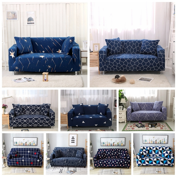 Blues, sofaseatcover, loveseat, Spandex