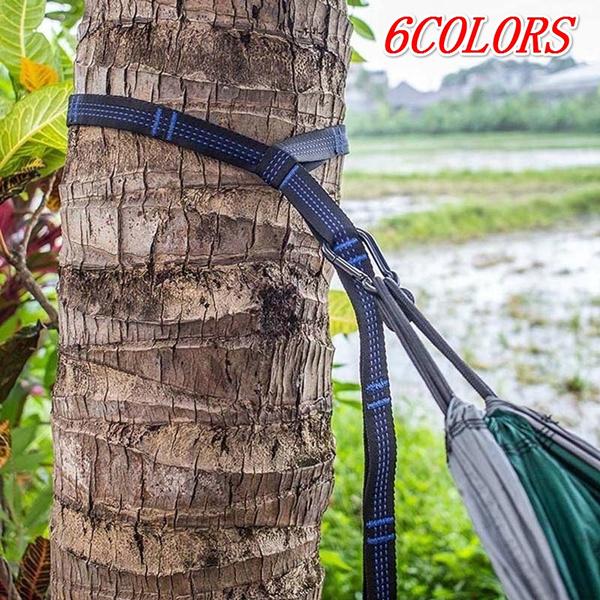 NEW Hammock Straps Outdoor Adjustable Hanging Hammock Heavy Duty Suspension