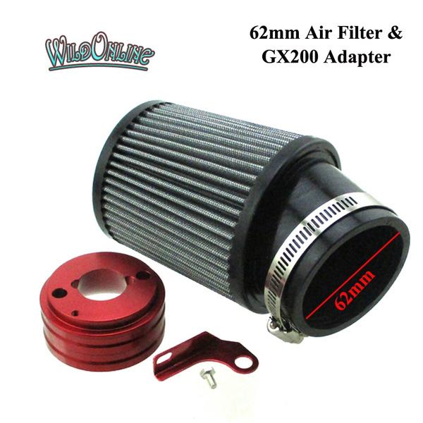 Air Filter Adapter For Honda Clone GX160 GX200 Engines 6.5 HP Go Kart Mini Bike