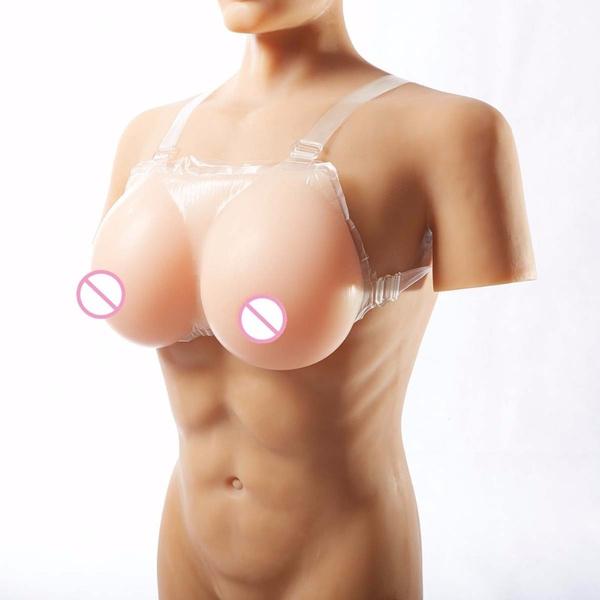 Realistic fake tits