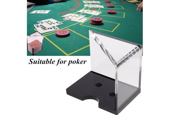 Games Discard Tray Casino Blackjack Dealer 6 Deck With Finger Slot For Card Player Toys Games Ubi Uz