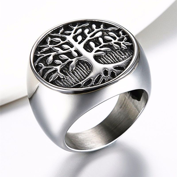 Steel, plainring, Jewelry, Stainless steel ring