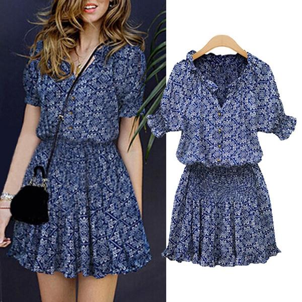 Summer, Fashion, tunic, Sleeve