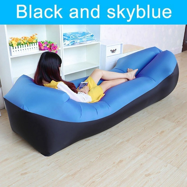 Groovy Lazy Lay Bag High Quality Fast Inflatable Lazy Sofa Lounger Air Sofa Unicorn Bean Bag Chair Outdoor Beach Lounger Swimming Pool Floating Beg Camping Caraccident5 Cool Chair Designs And Ideas Caraccident5Info