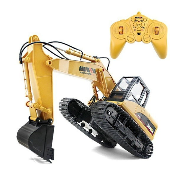 HUINA 1550 2 4GHz 15CH RC Alloy Excavator RTR with Independent Arms  Programming Auto Demonstration Function BuyList