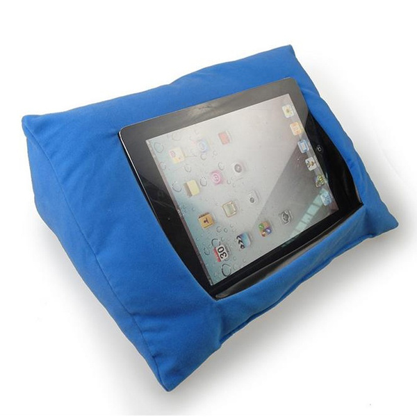 10 Color For Ipad Pillow Stand Books Soft Holder Tablet Log Lap Desk Pyramid Cushion Kits