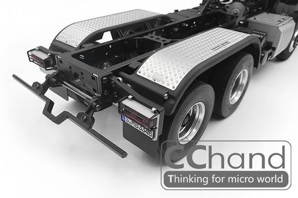 CChand Metal Tipper Plate for  1//14 TAMIYA Arocs Tipper Truck