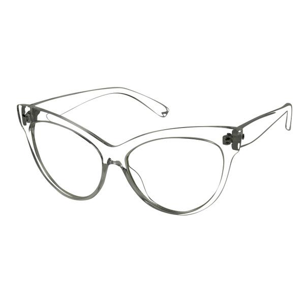 Wish | ShadyVEU - Oversized XL Cat Eye Clear Lens Transparent Rx ...
