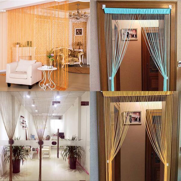 Summer, living room, Home Decor, Door