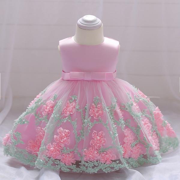 5e42f872e315 2018 vintage Baby Girl Dress Baptism Dresses for Girls 1st year ...