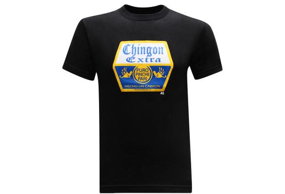 cfffffbaf Mens Fashion Short Sleeve T-shirt Chingon Extra Mexican Latino Corona Male  Cotton Tops   Wish