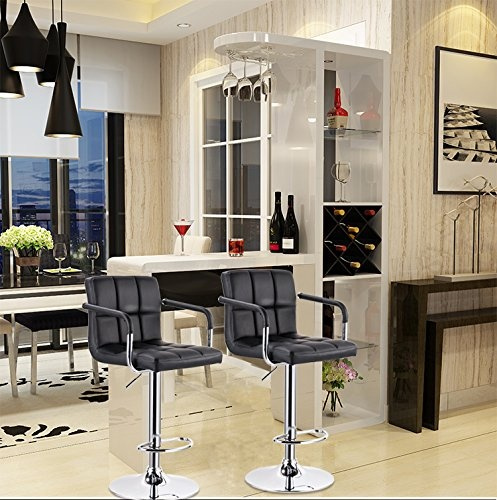 Stupendous Set Of 2 Woltu Absx1003Agn Bar Stool Swivel Apple Green Short Links Chair Design For Home Short Linksinfo