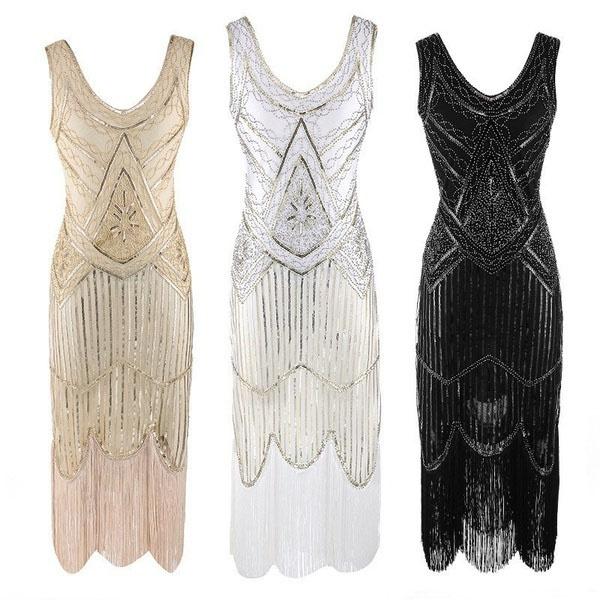 great gatsby klänning