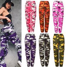 Moda, womernpant, Casual pants, Army