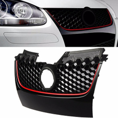 Grill, frontgrille, Golf, blackgrille