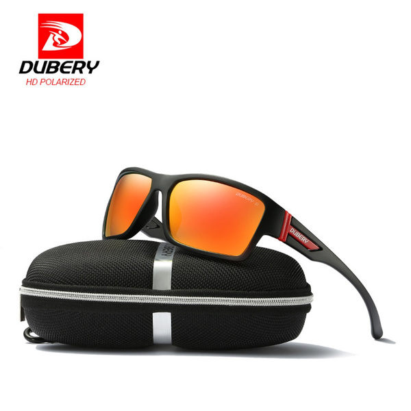 Men HD Polarized Sunglasses Outdoor Drving Fishing Eyewear Glasses With Case