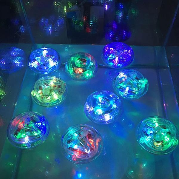 Geek | Colorful LED Pool Light Waterproof Bathroom Tub Light Kids ...