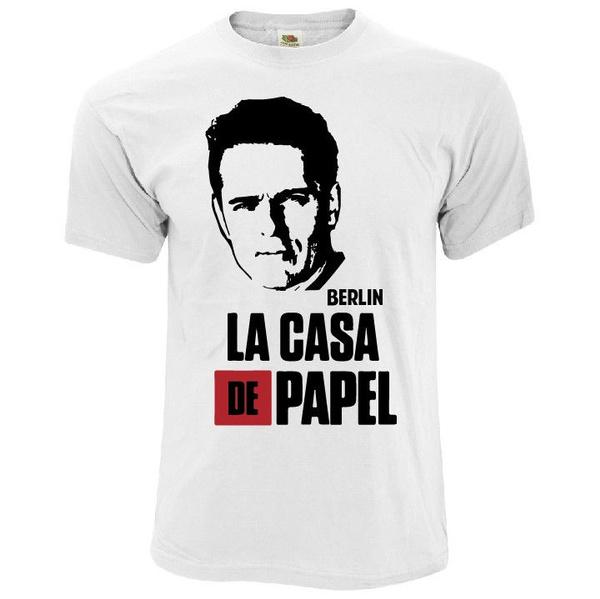 8ab95f0c896 Fashion Man T Shirt La Casa De Papel