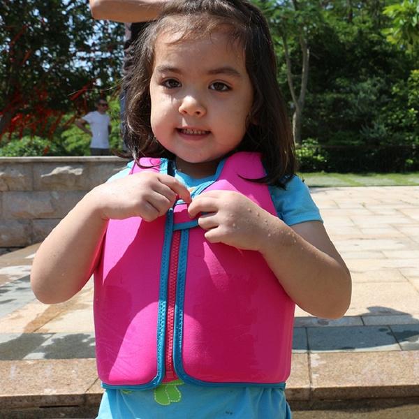 Baby Float Vest Swim Trainer Kids Swim Vest Girls Boy Life Jacket Swimsuit