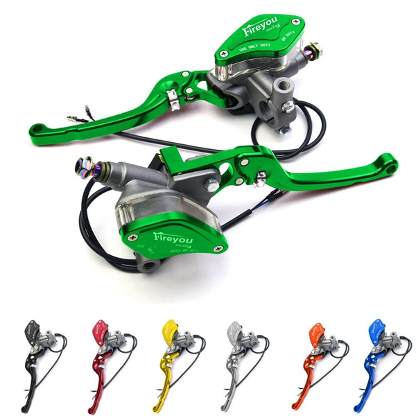 Fireyouracing Motorcycle Master Cylinder Brake Hydraulic Clutch Lever for  7/8