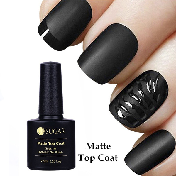 Wish | Saviland Matte Top Coat Nail Art Gel Polish Soak Off Long ...