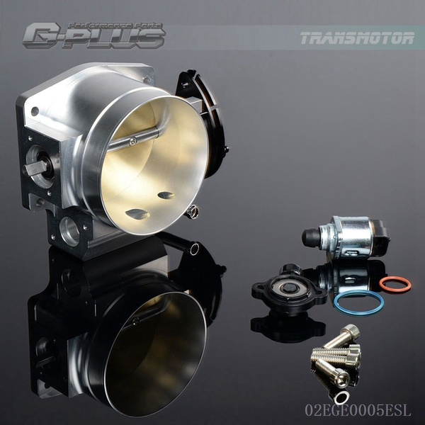 92mm Throttle Body + TPS IAC Throttle Position Sensor For LSX LS LS1 LS2  LS7 SL