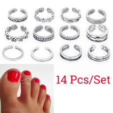 Sterling, adjustablering, Fashion, Jewelry