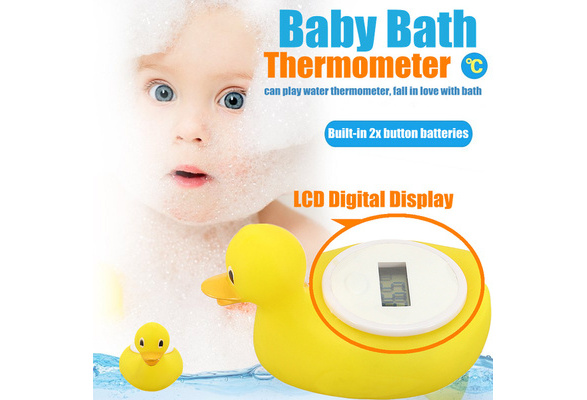 Duck Bath Safety Thermometer Baby Water temperature Digital Sensor monitor New