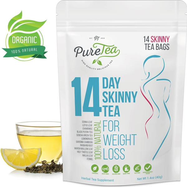 Puretea Skinny Tea Gentle Diet Detox Tea Teatox And Appetite Suppressant Reduce Bloating And Constipation For Weight Loss 100 Natural Body