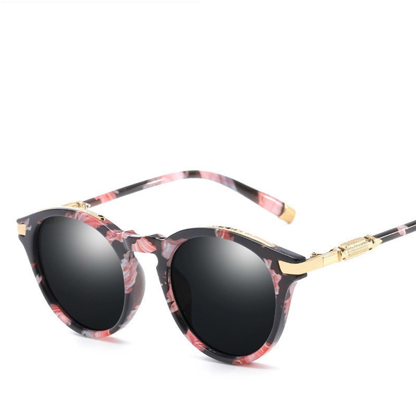 3a4e9ccca Gato óculos de Sol Olho Redondo-Revestimento das mulheres Designer De Marca  Sol Feminino Vintage Sombra Óculos Venda Quente Cateye oculos feminino 2018  | ...