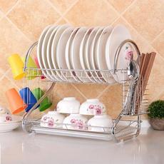 Steel, dishshelf, Kitchen & Dining, Kitchen & Home
