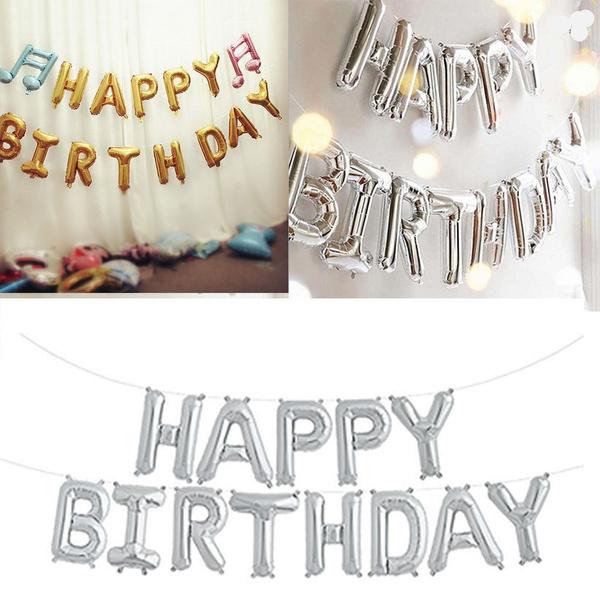 happybirthday, decoration, foilballoon, Jewelry