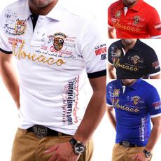 polonecktshirt, shortsleevepolo, Sleeve, graphic tee