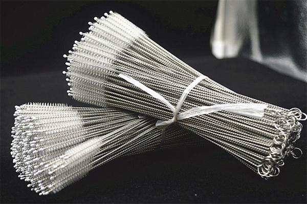 Steel, drinkingstraw, Cup, cleaningbrush