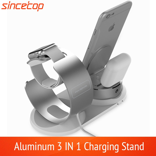 differently d3490 ad3c1 Charging Stand Compatible with Apple Watch 4, Aluminum Watch Charging  Station Dock Holder Support Nightstand Mode for Apple Watch Series ...